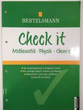 Check it  Mathematik - Physik - Chemie