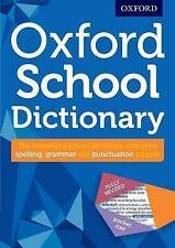 Oxford School Dictionary Children English New Curriculum Support