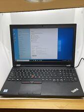 Y167 Lenovo THINKPAD P50 Core i7-6820HQ 32GB 256Gb SSD 4K 3840x2160 Laptop
