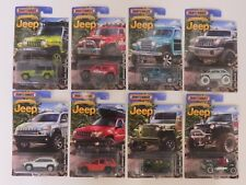 2015 Matchbox Anniversary Edition JEEP Complete Collection 8 - 1/64 Diecast Cars