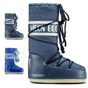 Unisex Adults Tecnica Moon Boot Nylon Winter Waterproof Knee Boot US 7.5-12.5