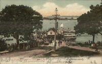 Peaks Island ME Forest City Landing c1910 Postcard