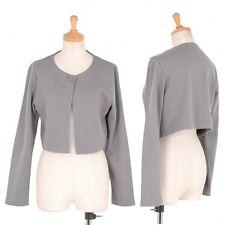 (SALE) agnes b cotton Acrylicic short length cardigan Size 2(K-22468)