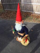 "52"" Vintage Nordic Legends Christmas Gnome Figure Doll Display Birgitta Boddaert"