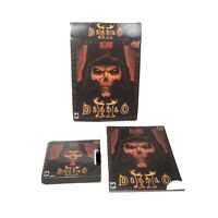 Diablo 2 Big Box PC Game Diablo II Instructions, 3 Discs, & Bad Box Untested