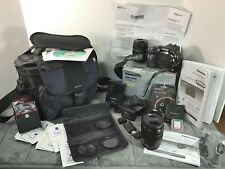 LUMIX DMC-G5K 16 MP Mirrorless Digital Camera w/ Extra 45-150 HD Lens & Accessor