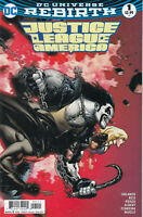 Justice League of America # 1 DC Rebirth (1st Print) Mark Brooks Variant VF/NM