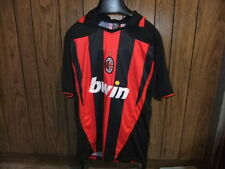AC Milan soccer jersey XL Free Size BWIN black red Rossoneri