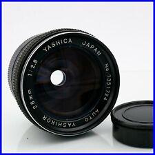YASHIKOR 28mm f2.8 M42 screw mount yashica lens vintage obiettivo fisso prime