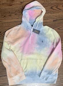 NWT Polo Ralph Lauren TIE DYE Pullover Sweatshirt Hoodie 4XLT