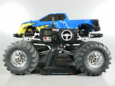 Tamiya 1/10 R/C TXT-1 Monster Truck + Brushless Motor + Lipo battery + 2.4Ghz RX