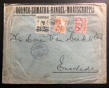 1922 Pontianak Netherlands Indies Commercial cover Borneo Sumatra Trading Co