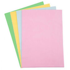 120 x A4 COLOURED PASTEL PAPER ASSORTED COLOURS ARTS CRAFTS CARD MAKING NEW