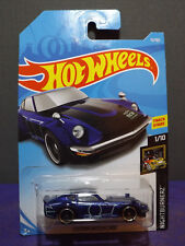 2018 Hot Wheels CUSTOM DATSUN 240Z,  HW NIGHTBURNERZ Series 1/10. Long Card.