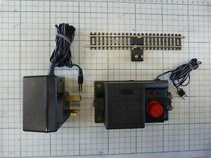 Hornby R965 controller C990 adaptor and power rail OO gauge model train set