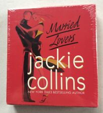 Jackie Collins - Married Lovers Audiobook CD (6 CD Set, 7 hours) FREE SHIP NEW