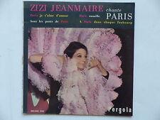 ZIZI JEANMAIRE Chante Paris Paris je t aime d amour ... 450082 PAE