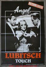 ANGEL ANGE Affiche Cinéma Movie Poster 120x80 Ernst Lubitsch Marlene Dietrich