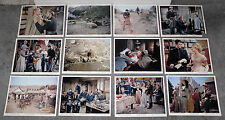 A THUNDER OF DRUMS original 1961 color lobby photo set RICHARD BOONE/DUANE EDDY