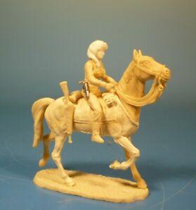 Lineol - Wild West Cowgirl zu Pferd - 75mm Figur Bausatz - Resin Kit 1:24