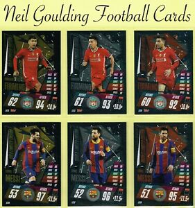 Topps MATCH ATTAX 2020-2021 ☆ LIMITED EDITION ☆ Football Cards