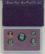 1988 S UNITED STATES PROOF SET ORIGINAL BOX