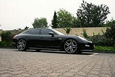 10x22 Zoll 5x130 ET50 Alufelgen Felgen Porsche Panamera + 4S GTS Turbo schwarz
