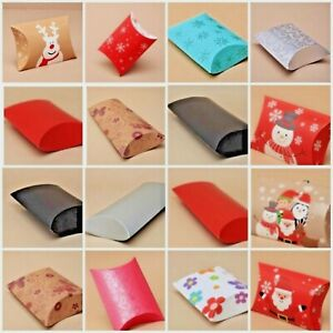 Gift Box Pillow Pack Card Gift Wrap Christmas Present Birthday sizes in Cms