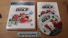JOHN DE DALY PROSTROKE GOLF / PS3 SONY PLAYSTATION 3 PAL COMPLETO