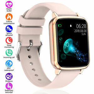 Smart Watch Fitness Tracker For Android Heart Rate Monitor Blood Pressure Sports
