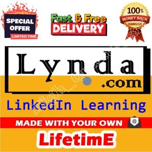 Lynda.com from Linkedln Learning Premium Privilege Unlimited Time Limit
