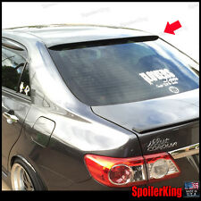 Toyota Corolla 2011-2013 Rear Window Roof Spoiler Polyurethane Wing 284R