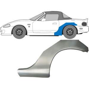 Mazda MX-5 NB 1998-2005 Hinten Kotflügel Reparaturblech / Links