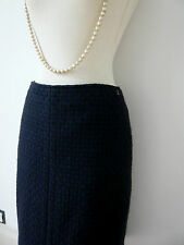 CHANEL jupe crayon tweed skirt pencil  T 38