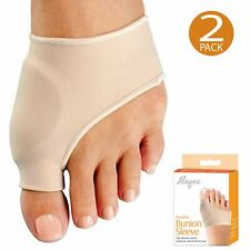Bunion Corrector & Relief Sleeves w/ Gel Pad Cushion Orthopedic Protector 1 pair