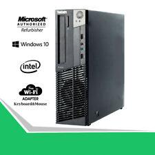 Gaming Desktop PC 500GB Nvidia GT 1030 HDMI 3.2Ghz 16GB RAM WiFi Win10 Computer