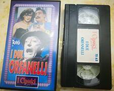VHS - I DUE ORFANELLI di Mario Mattoli [TELESTUDIO]