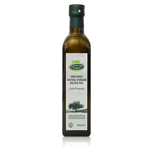 Organic Extra Virgin Olive Oil 500ml Cold Pressed Certified Organic