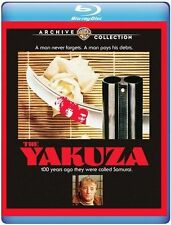 DIE YAKUZA (1975 Robert Mitchum) - BLU RAY - Region free - Versiegelt