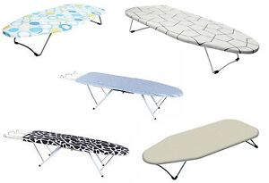 Folding Ironing Board With Cover Portable Travel Camping Table Top Space Saver