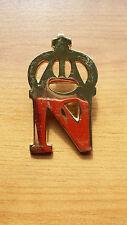 Reproduction French Napoleonic Giberne 'N' Badge