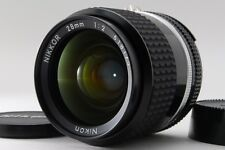 【Near MINT】 Nikon Ai-s Nikkor 28mm f/2 Ais MF Wide Angle Prime Lens from Japan