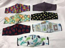 Stylish Handmade 100% Cotton Washable Face Masks - Adult and Child Sizes!