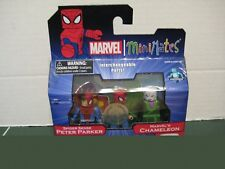 Marvel Minimates Spider Sense Peter Parker and Marvel`s Chameleon Exclusive Set