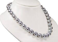 Collar BELLO de TAHITÍ Cadena de concha de perlas color plateado