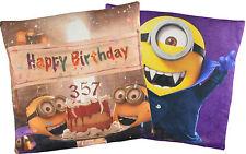 Minions Kissen**Happy Birthday Dracula/Vampir**Lizenzware(40x40cm) NEU&OVP