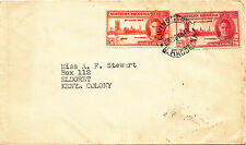 NORTHERN RHODESIA. 1946. FIRST DAY COVER
