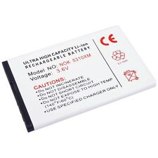 BATTERIA per Nokia x3 7230 6700 Slide Batteria