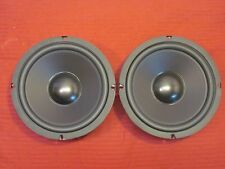 "NEW (2) 8"" woofer Replacement Speakers.8 ohm.bass eight inch pair.home audio.ess"