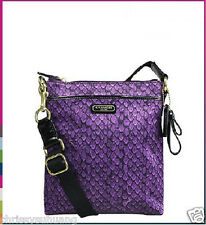 NWT COACH TAYLOR SNAKE PRINT SWING PACK F50065